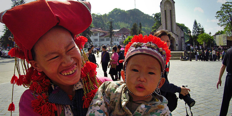 Why visit Vietnam with children ?